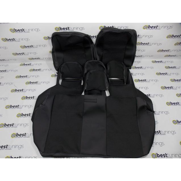 Обивка сидений ВАЗ 2107 (кожа+ткань искра,ультра,скиф)