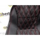 Чехлы на сиденья ВАЗ 2107 кожа+кожа
