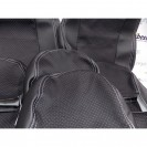 Чехлы на сиденья ВАЗ (кожа+ткань искра,ультра)