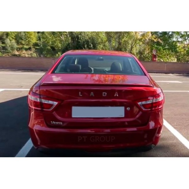 Спойлер на крышку багажника не крашен LADA VESTA 2015