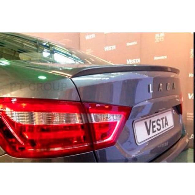 Спойлер на крышку багажника крашенный LADA VESTA 2015-