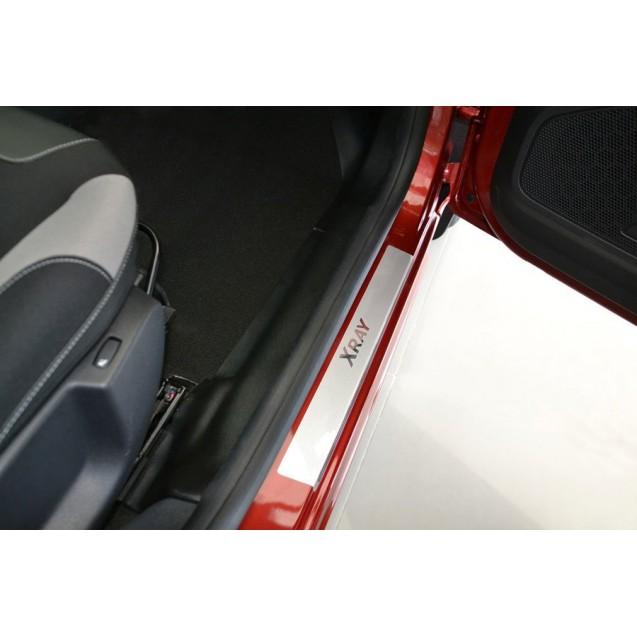 Накладка в проем дверей (4 шт) из нержавейки для LADA XRAY