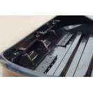 Бокс-багажник на крышу Аэродинамический Черный «Turino 1 Lux»