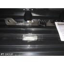 Бокс-багажник на крышу Аэродинамический Серый «Turino 1 Lux»