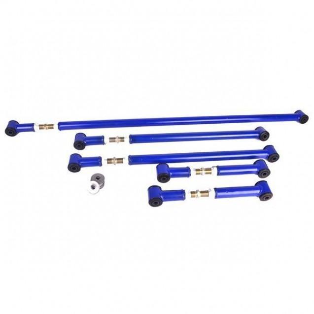 Реактивные тяги разрезные регулируемые для Нива 2121, 21213, 21214, 2131 и Chevrolet Niva 2123