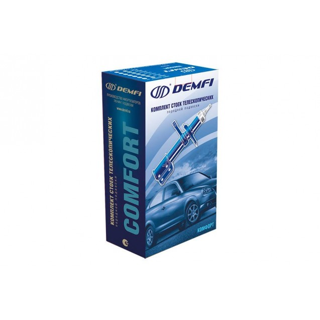 Стойка передняя КАЛИНА 1119 (для бочкообразной пружины) (ГИДРАВЛИКА) серия КОМФОРТ