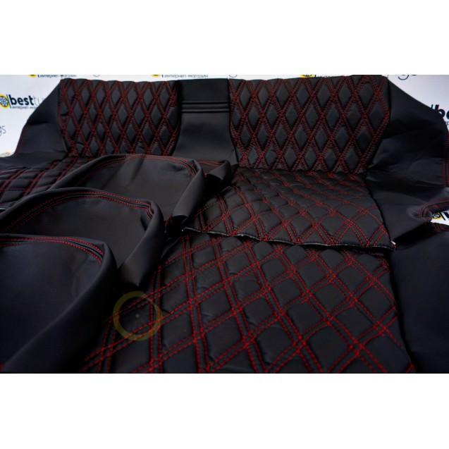 Обивка сидений ВАЗ 2107( ткань+ткань) узор на выбор