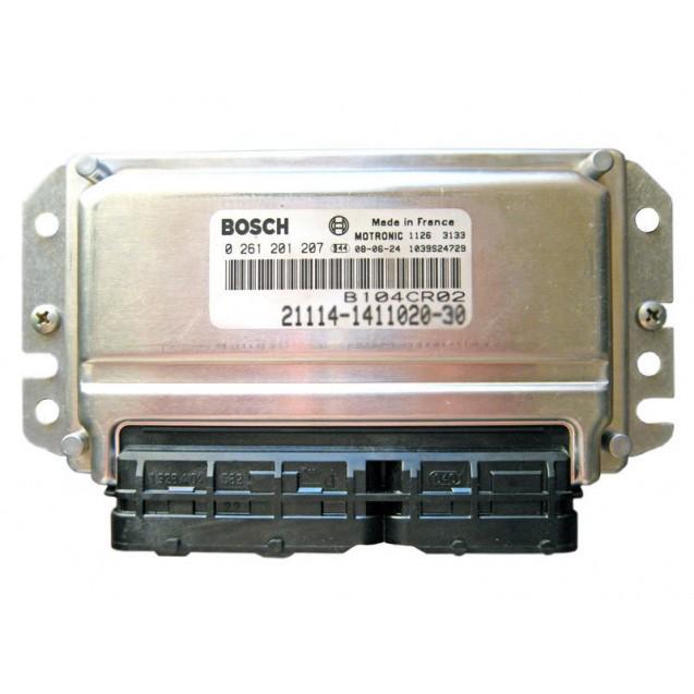 Контроллер ЭБУ BOSCH 21124-1411020-30 (VS 7.9.7)