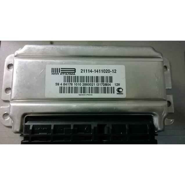 Контроллер ЭБУ Январь 21116-1411020-12 (Итэлма)