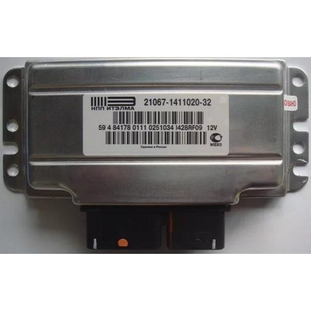 Контроллер ЭБУ Январь 21067-1411020-32 (Итэлма)