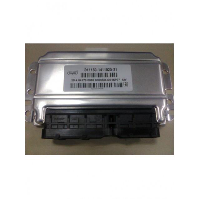 Контроллер ЭБУ Январь 7.2 11183-1411020-21 (Автел) с программой CO (программируемый)