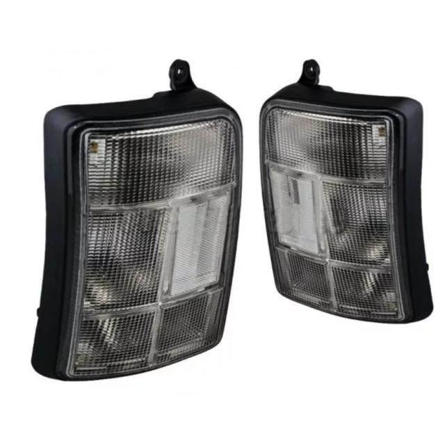 Светодиодные задние фонари ТЮН-АВТО ЧЕРНЫЕ с бегающим повторителем для НИВА 21213, 21214, 2131