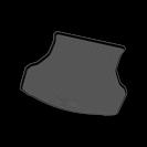 Коврик багажника, полиэтилен, для Лада Гранта ВАЗ 2190