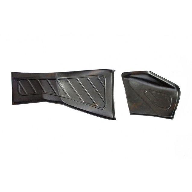 Накладки ковра грязезащитные в ноги водителя и пассажира для Лада Веста (пара)