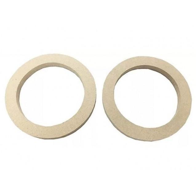 Проставочные кольца для установки динамиков 16 см в обшивки дверей Лада Калина