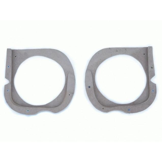 Проставочные кольца для установки динамиков 16 см в обшивки дверей Лада Приора