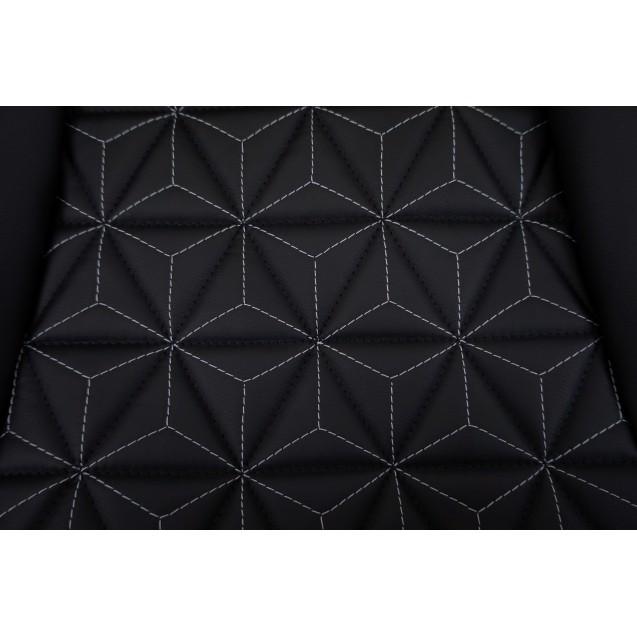 Обивка сидений Ваз Куб 2108 (кожа+кожа)