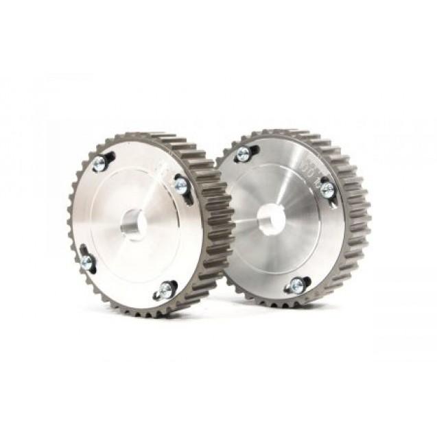 """Шестерни разрезные ГРМ """"16V"""" Лада-ПРИОРА (алюминиевая ступица) с маркерным диском"""