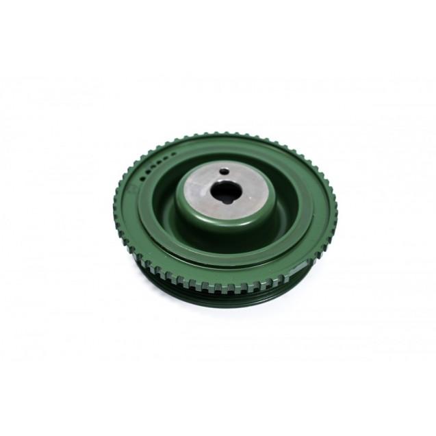 Демпферный шкив коленвала «SLON» 2110-1005058-04 для ВАЗ 2108-15, 2110-12, Калина и Гранта