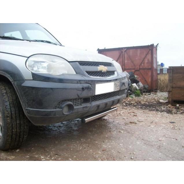 Передняя защита TPRS 2 ВАЗ 2123 Chevrolet Niva RS