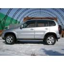 Защита порогов TPRS ВАЗ 2123 Chevrolet Niva RS