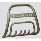 Передняя защита для УАЗ Патриот с надписью/без