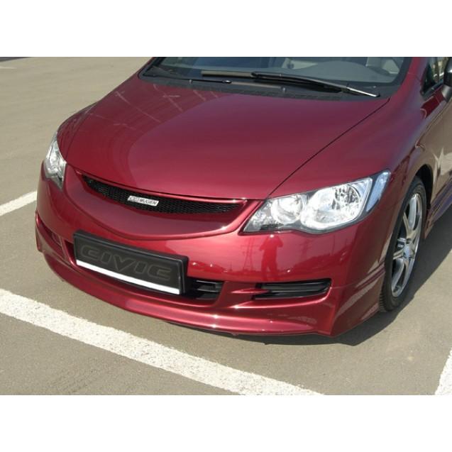 Накладка переднего бампера Mugen H.Civic 4d