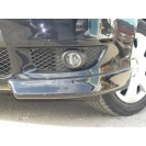 Клыки (накладки) переднего бампера Lancer X