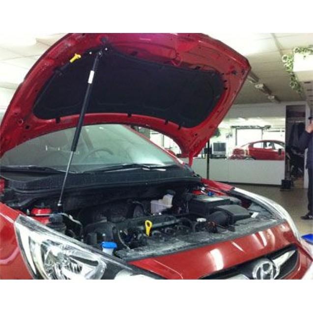 Упор капота Hyundai Solaris (2010)