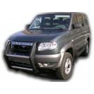 Защита переднего бампера 01 на УАЗ Patriot
