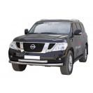 Передняя защита Nissan Patrol