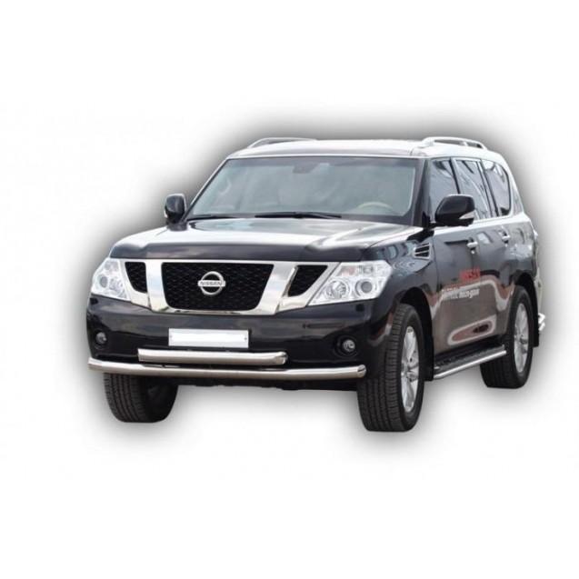 Пороги Nissan Patrol