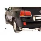Задняя защита уголки двойные Nissan Patrol