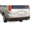Задняя защита уголки Nissan X-Trail