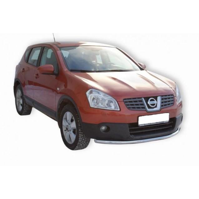 Передняя защита Nissan Qashqai