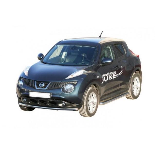 Передняяя защита Nissan Juke
