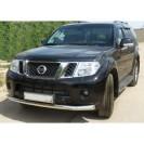 Передняя защита Nissan Pathfinder