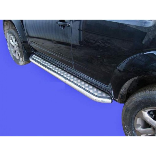 Пороги (с алюм. лист.)Nissan Pathfainder