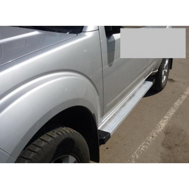 Пороги Nissan Pathfinder(алюминево-магниевые)