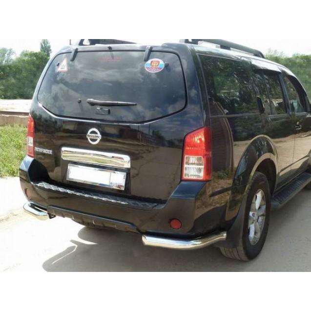 Задняя защита уголки Nissan Pathfainder