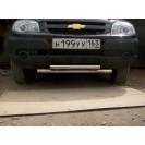 Передняя защита  TP RS1(ГОСТ) на ВАЗ 2123 Chevrole