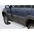 Защита порогов RS 07 ВАЗ 2123 Chevrolet Niva RS