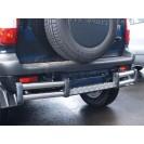 Защита з.б. zadbamper04 на ВАЗ 2123 Chevrolet Niva