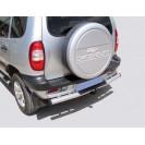 Защита з.б. zadbamper05 на ВАЗ 2123 Chevrolet Niva