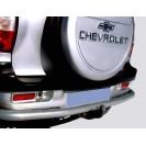 Защита з.б. zadbamper07 на ВАЗ 2123 Chevrolet Niva