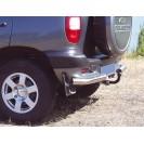 Защита з.б. zadbamper11 на ВАЗ 2123 Chevrolet Niva