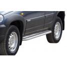 Пороги RS 02 на ВАЗ 2123 Chevrolet Niva RS