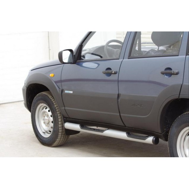 Пороги RS 03 на ВАЗ 2123 Chevrolet Niva RS