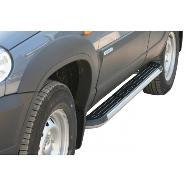 Пороги RS 06 на ВАЗ 2123 Chevrolet Niva RS