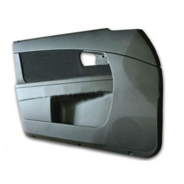 Обивка дверей Лада Приора. (ВАЗ 2170-71-72) черная